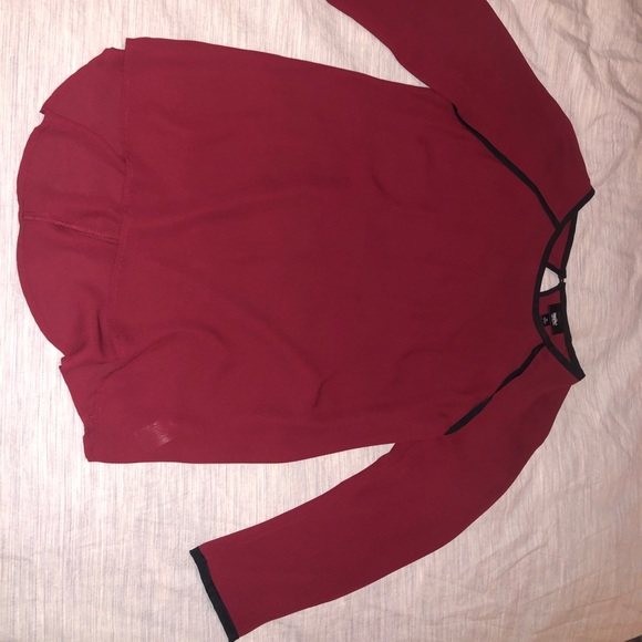 Mossimo Supply Co. Tops - Mossimo Wine Color Blouse $10